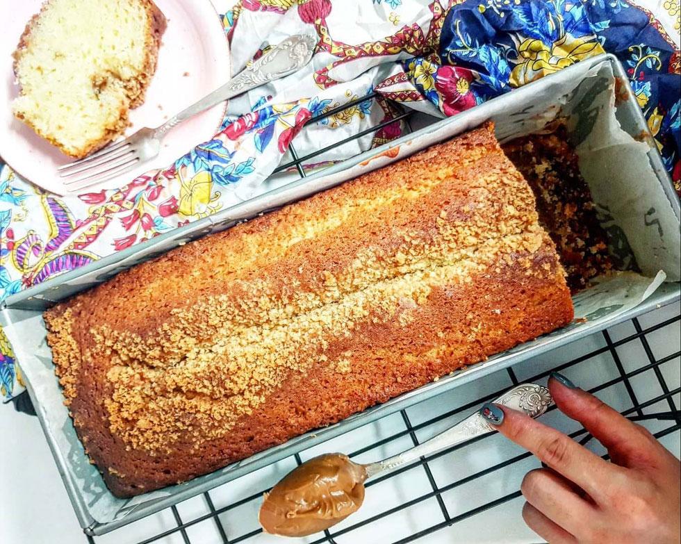 עוגת לוטוס בחושה (צילום: אסתר דורון צרפתי)