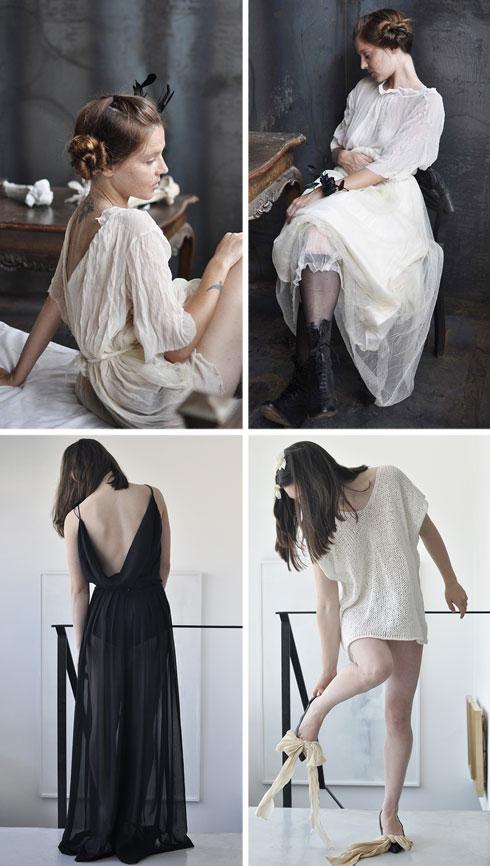 """""""גם בעיצובי האופנה שלי וגם בבית באה לידי ביטוי הנשמה הקוטבית והמורכבת שלי"""" (צילום: שרון ברונשר)"""