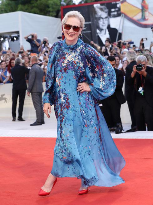 מריל סטריפ לובשת ז'יבנשי (צילום: Vittorio Zunino Celotto/GettyimagesIL)