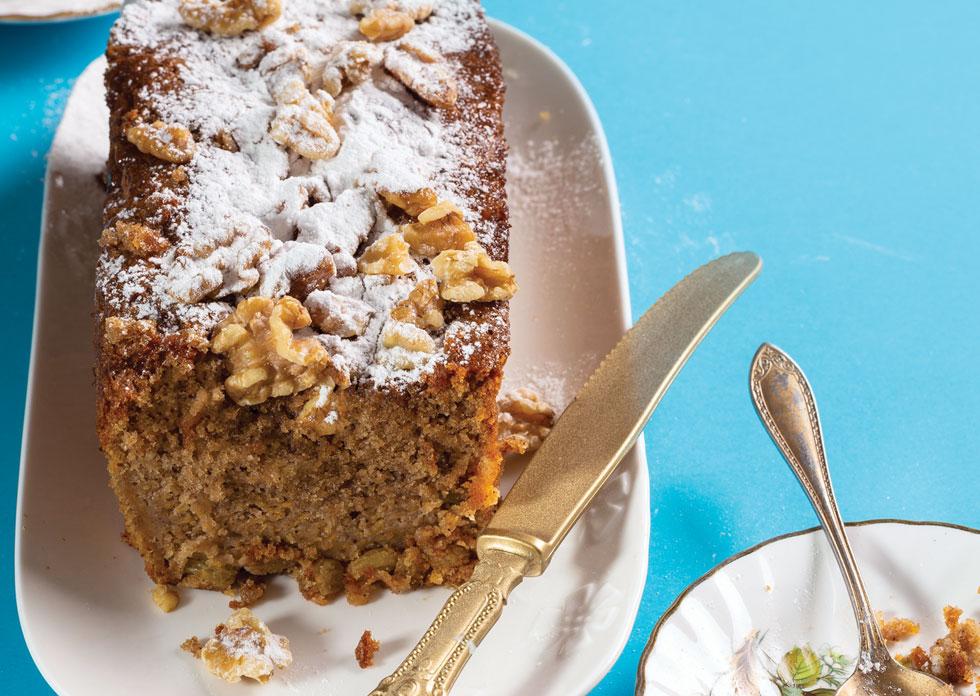 עוגת דלעת ואגוזים  (צילום: בועז לביא, סגנון: עמית דונסקוי)