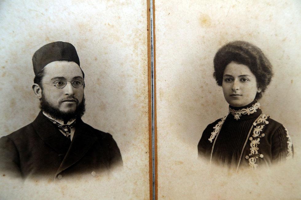 בני הזוג לאה ומשה יעקובסון. התחתנו למרות אזהרות חמורות של אחד מבני המשפחה (צילום רפרודקוציה: יריב כץ)