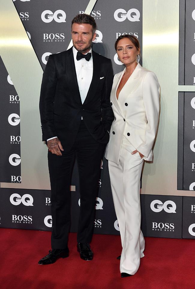 """""""אוהבת להיות איתו"""". ויקטוריה ודיוויד בקהאם (צילום: Getty Images)"""