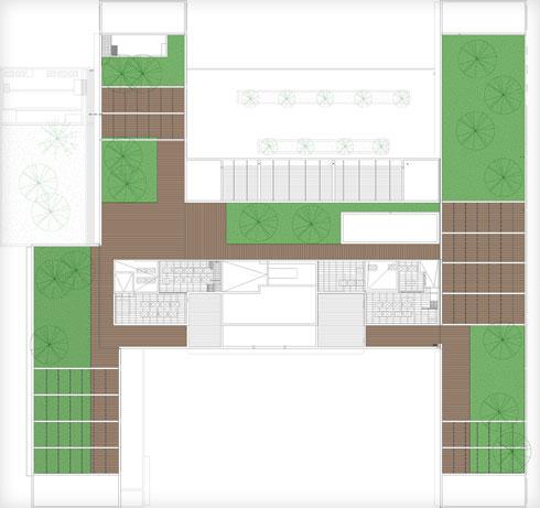 תוכניות מבנה בית הספר התיכון ''פרס'' בתל אביב (תוכנית: וינשטין ועדיה אדריכלים)