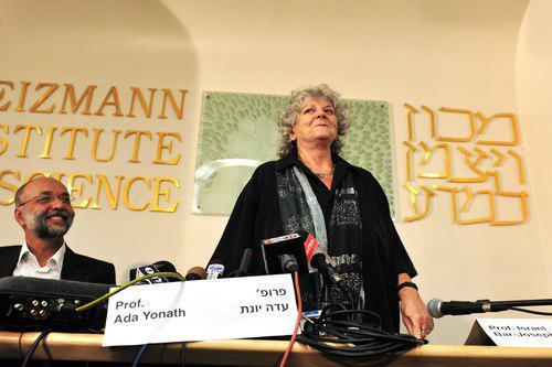 Лауреат Нобелевской премии профессор Ада Йонат на служебной конференции: одежда простая и удобная. Фото: ChameleonsEye, shutterstock