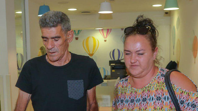 Йосеф Перец с женой. Фото: Ярив Кац (Photo: Yariv Katz)