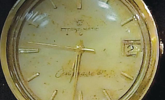 שעון היד של כהן שהושב לנאדיה
