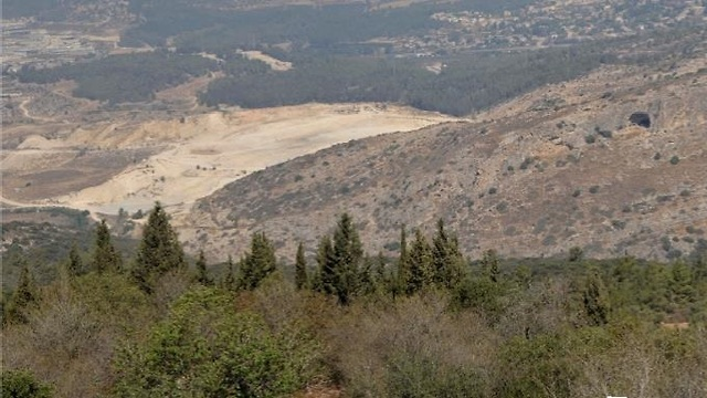 אזור מערת שמשון (צילום: דניאל עין מור)