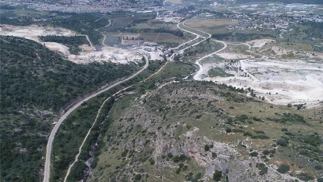 אזור מערת שמשון (צילום: החברה להגנת הטבע)