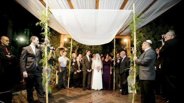 Jewish wedding (Photo: Aviv Abergil) (צילום: אביב אברג'ל)