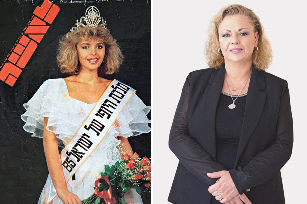 """הילה קלמן האוזמן  בתמונת ההכתרה (משמאל) והיום. """"ראיתי, טעמתי, הכל טוב ויפה, והחלטתי להפסיק עם זה"""" (צילום: שמואל יערי)"""