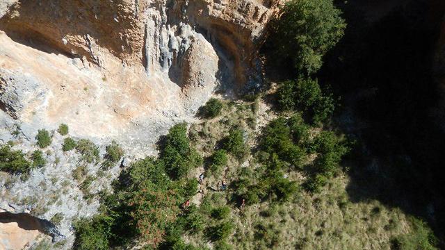 אזור הנפילה (צילום: diariodelaltoaragon)