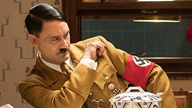 Taika Waititi dressed as Hitler for Jojo Rabbit