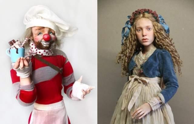 Повар Ирины Шубиной и кукла Мария Михаила Зайкова