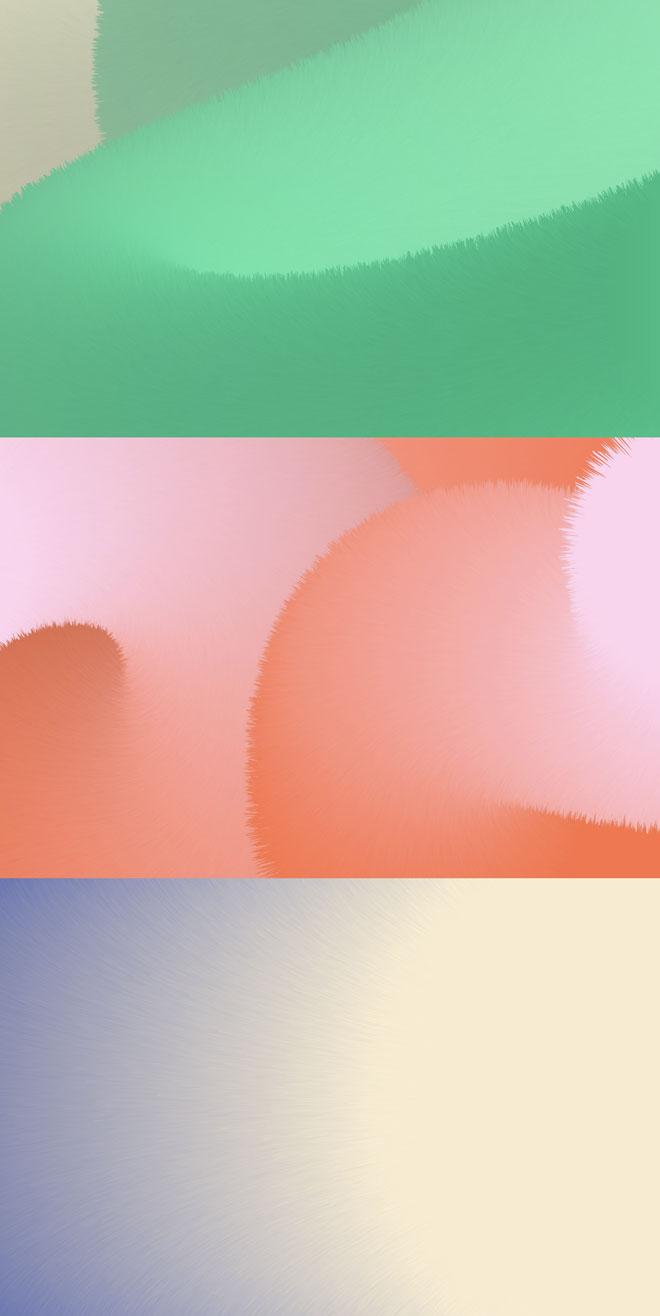בין מברשות צבע לשיער פרווה -  תקריבי הטקסטורות של המיתוג עם מעברי צבע עדינים. עיצוב: DesignStudio (צילום: DesignStudio)
