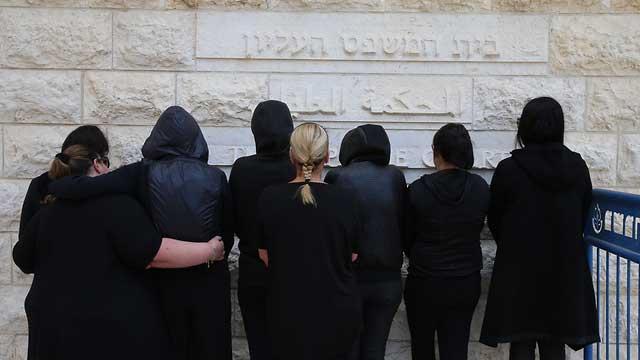 Истицы, требующие разрешить рекламу проституции. Фото: Амит Шааби