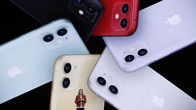 האייפון החדש (צילום: רויטרס)
