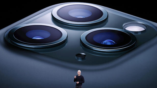 אייפון 11 פרו (צילום: EPA)