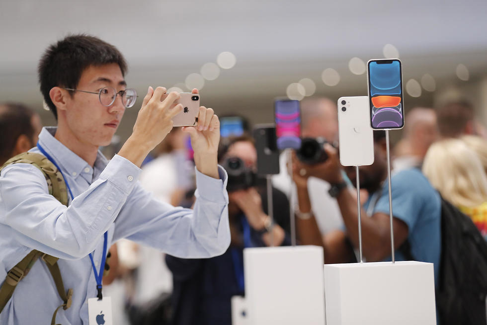אייפון 11 (צילום: EPA)