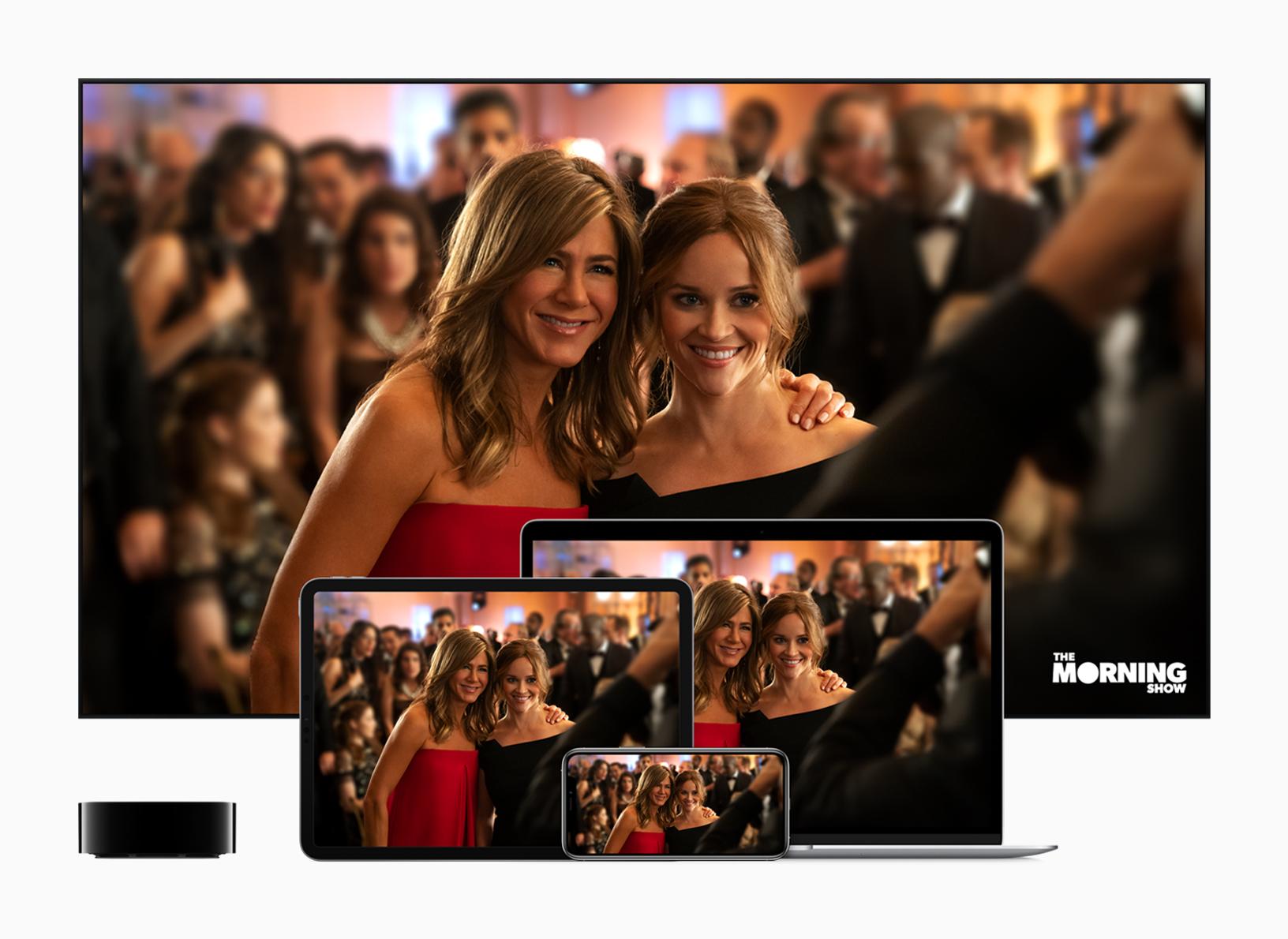 אפל TV פלוס (צילום: אפל)