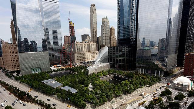 טקס זיכרון להרוגי פיגועי 11 בספטמבר בניו יורק (צילום: AP)
