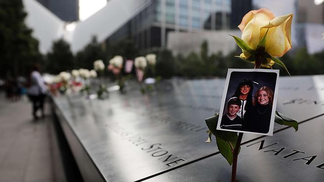 טקס זיכרון להרוגי פיגועי 11 בספטמבר בניו יורק (צילום: AFP)