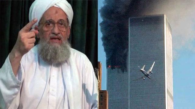 אל קאעידה איימן א-זוואהירי פיגועים 11 בספטמבר מגדלי התאומים (צילום: AP)