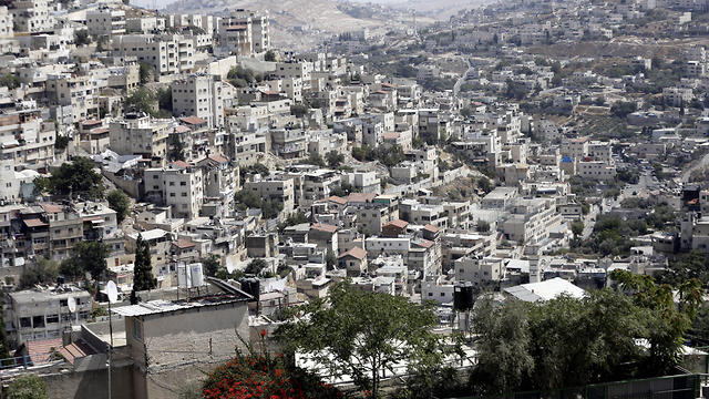 A view of the east Jerusalem neighborhood of Silwan
