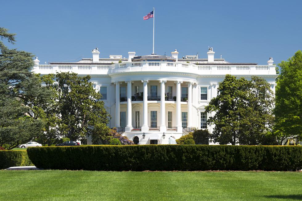 הבית הלבן וושינגטון הבירה ארצות הברית ארה