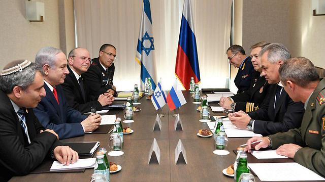 Переговоры в Сочи. Фото: Амос Бен-Гершом, ЛААМ