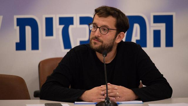 Netanyahu aid and new media director Johnathon Urich (Photo: Yoav Dudkevitch (Photos: Yoav Dudkevitch)