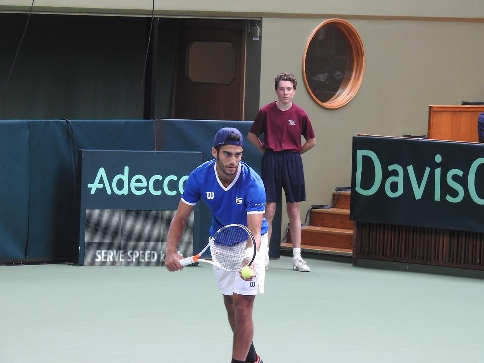 דניאל צוקרמן (צילום: לידור גולדברג, איגוד הטניס)