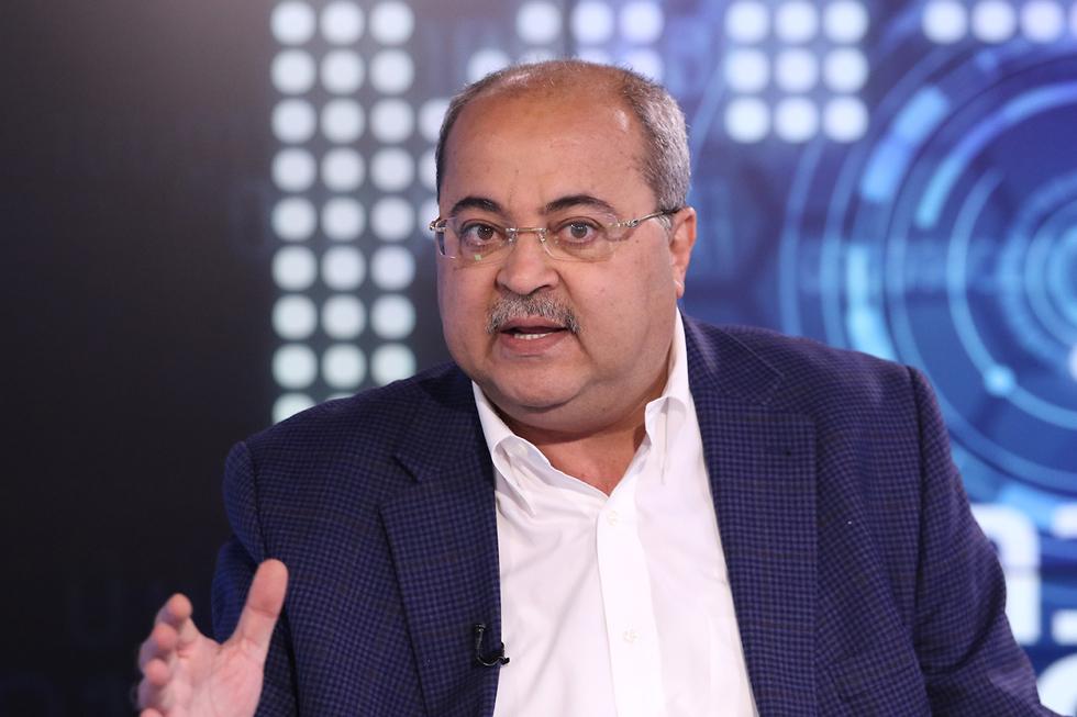 MK Ahmad Tibi  (Photo: Avi Moalem)