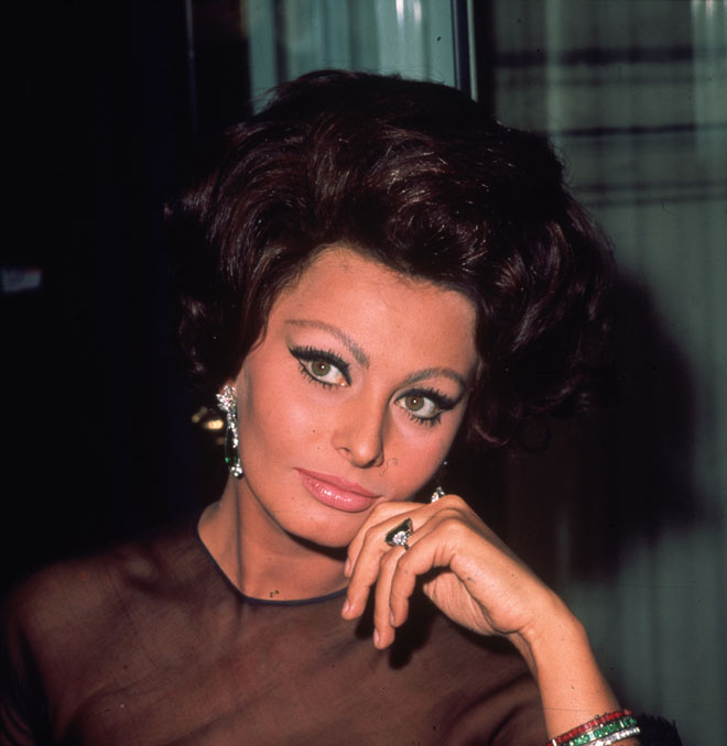 סופיה לורן, 1965 (צילום: Hulton Archive/GettyimagesIL)