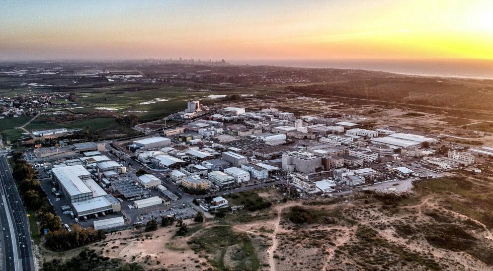 נגישות גבוהה. פארק תעשייה עמק חפר.  (צילום: גיא שמואלי)