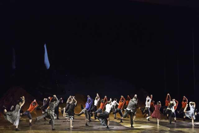 "Фрагмент балета ""Тевье"". Фото: Исмаэль Лоренцо"