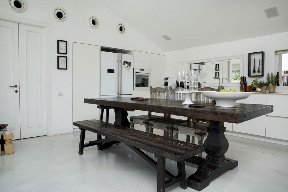 """""""המטבח הוא המרכז של הבית"""" (צילום: ענבל מרמרי)"""