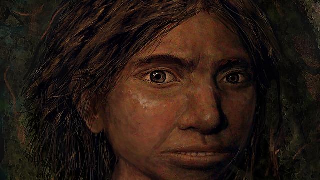 הפנים ששוחזרו (צילום: באדיבות מעיין הראל ו-CELL)