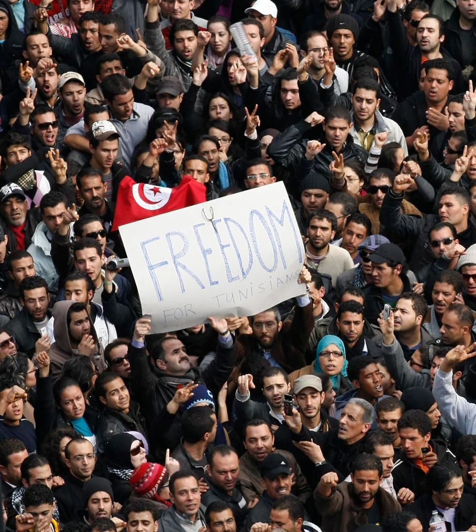 נשיא תוניסיה לשעבר זין אל עבדין בן עלי (צילום: AP)