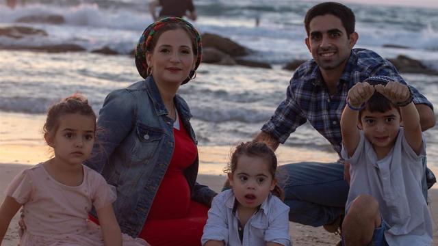 משפחת שוב (צילום: שולי ואלצר)