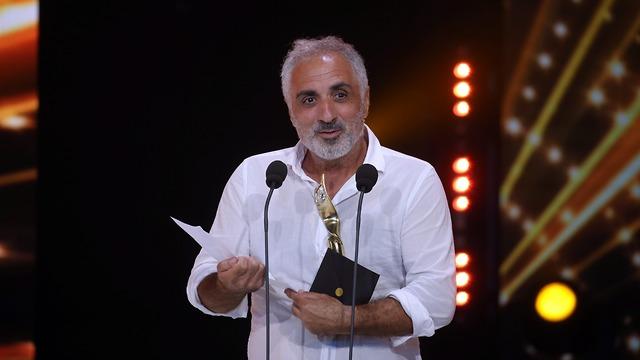 דובר קוסאשווילי זוכה בפרס שחקן המשנה (צילום: יריב כץ)