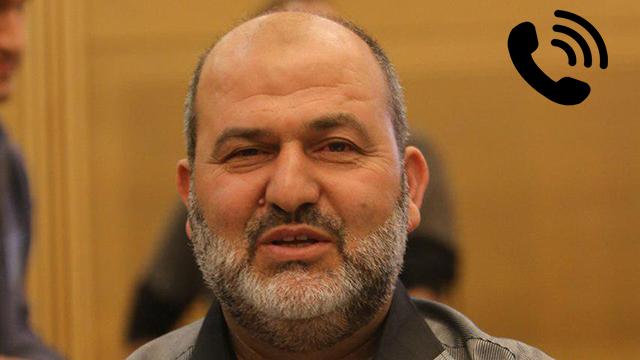 Joint List member of Knesset Abd Al Hakeem Haj Yahya  (Photo: Alex Kolomoisky) (צילום: אלכס קולומויסקי)