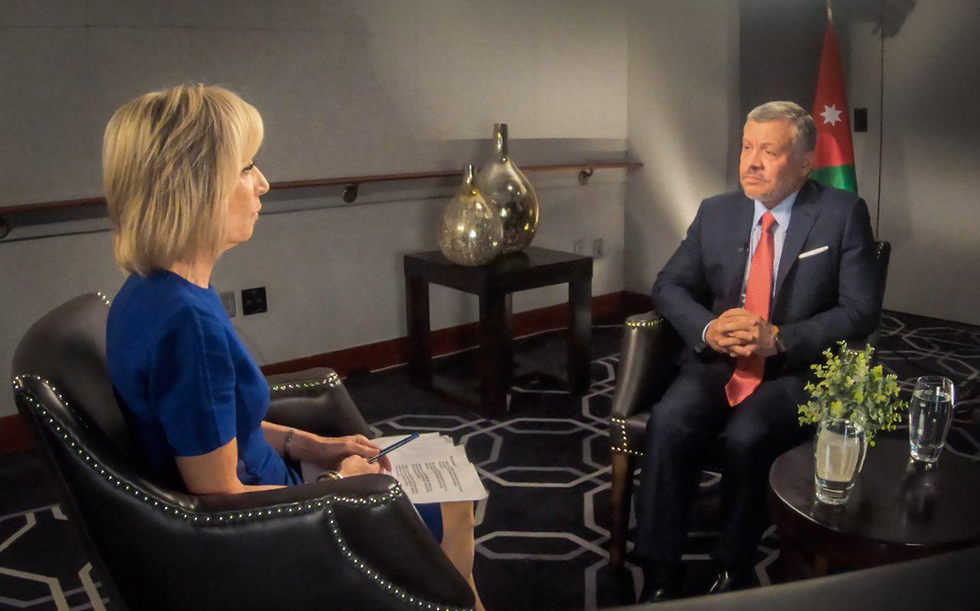 Jordan's King Abdullah talks to the U.S. media