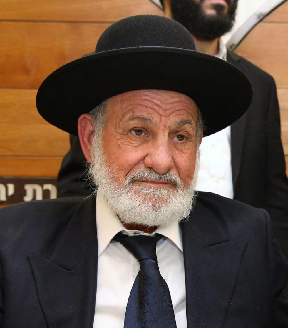 הרב ציון בוארון (צילום: יעקב כהן)