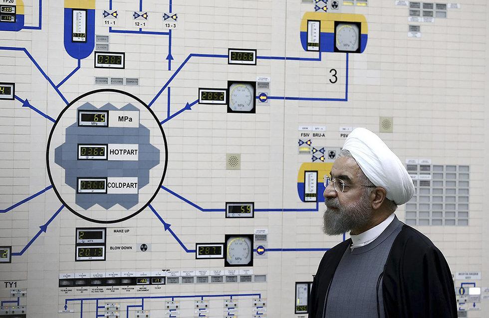 Iranian President Hassan Rouhani (צילום: AP)