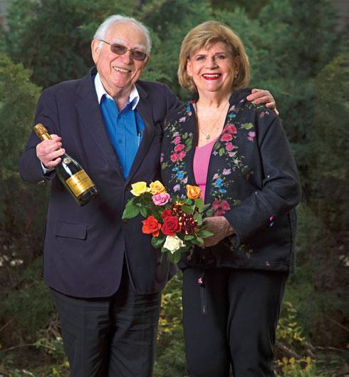 ההורים רות ורפי סירקיס (צילום: יובל חן)