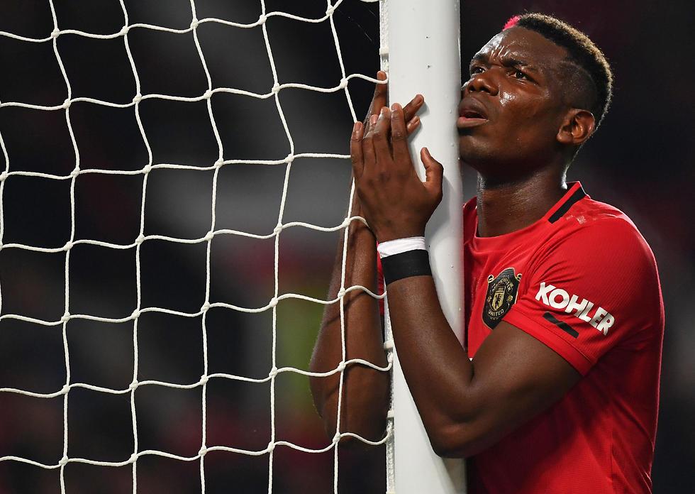 פול פוגבה (צילום: AFP)