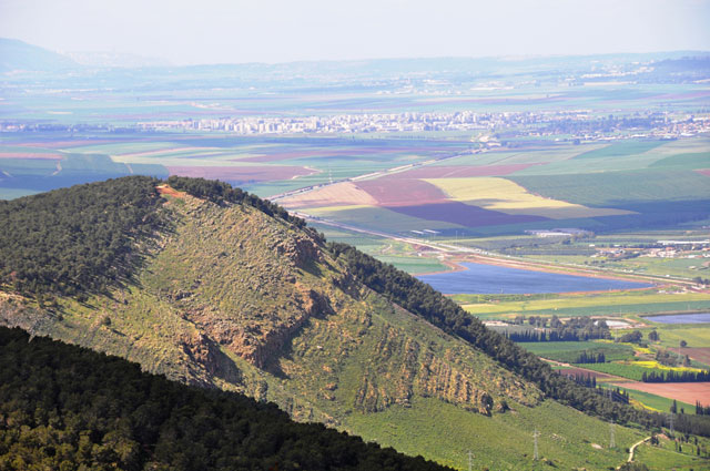 Вид с горы Шауль на долину Харод. Фото: Малка Баркаи