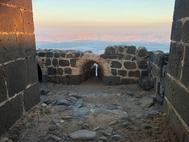 Вид с крепости Кохав ха-Ярден. Фото: Шир Охана