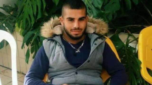 הנרצח ח'ליל מנאע מארוע הירי במג'ד אל כרום ()