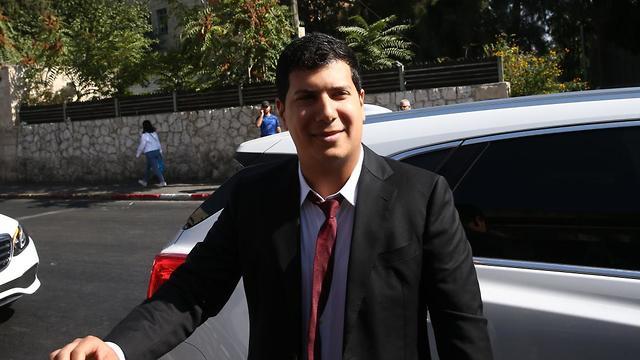 עורך דינו של בנימין נתניהו, עמית חדד (צילום: אוהד צויגנברג)